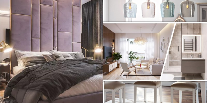 Apartment with modern interior design for a young family 2
