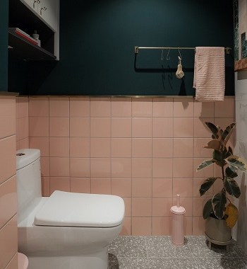 Lovable Pink Minimalist Bathroom Ideas As Your Best Intimate Space