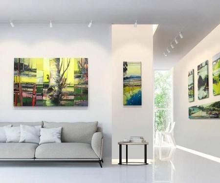 Built-in lighting for living room