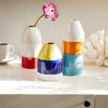 Color-blocked-vases-from-west-elm