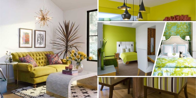 Give your home statement with chartreuse color fi