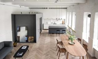 Splendido appartamento con interni eleganti che impressionano per l'equilibrio tra lavoro e vita privata 3