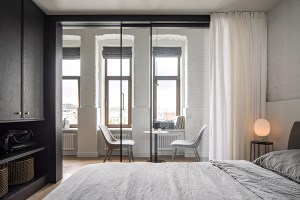 Splendido appartamento con interni eleganti che impressionano per l'equilibrio tra lavoro e vita privata 4