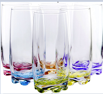 Captivating Colored Glassware To Make You Day Smiling