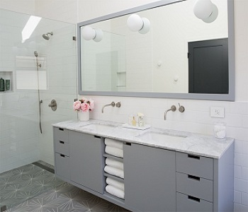 Simple Satisfying Bathroom Vanity Ideas For Minimalist Style.