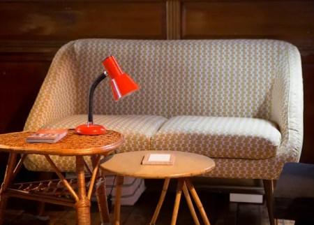 Living room desk lamp