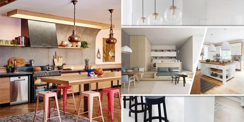 Minimalist kitchen design for maximalist kitchen style 2