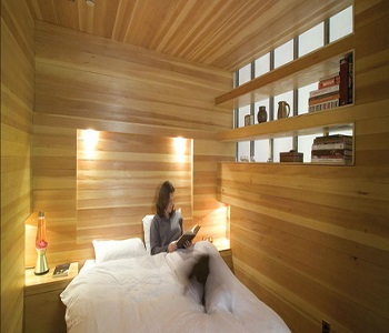 Earthy Interior Decor Of Wooden Bedroom To Envy In Every Angel