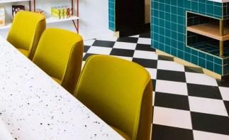 Modern mediteranian inspired kitchen