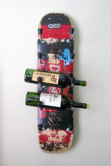 Recycled-skateboard-wine-rack-1