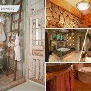 Respecting nature with inviting earth tone bathroom design ideas 2