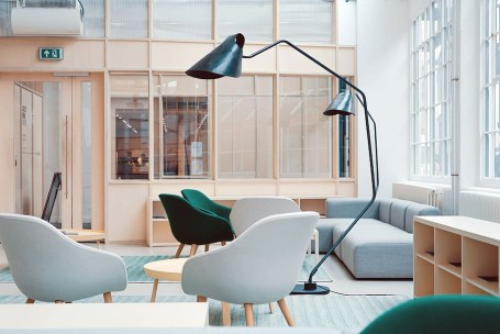 Unique floor lamp for living room