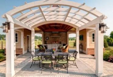 Arched-pergola-design