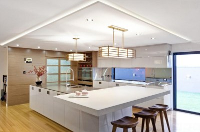 Contemporary-designed lights for kitchen
