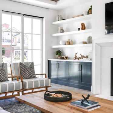 Home-interior-built-in-bookshelves-bookcase-white-and-blue