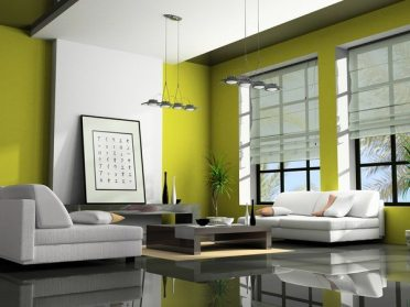 What-color-is-chartreuse-contemporary-living-room