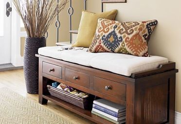26-a-wooden-bench-with-a-cushion-drawers-and-an-open-shelf-for-storage-for-a-rustic-space