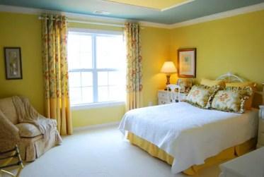Comfortable-modern-yellow-master-bedroom