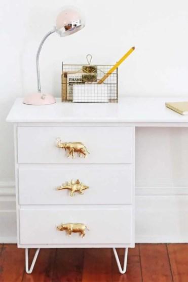 Gilded-dinosaur-drawer-pulls