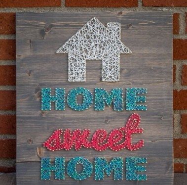 Home-sweet-home-string-art