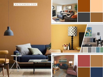 Selected easy breezy earth tone palettes for your apartment fi