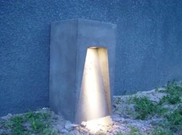 Concrete-lamp