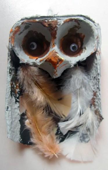 Owl-egg-carton-craft