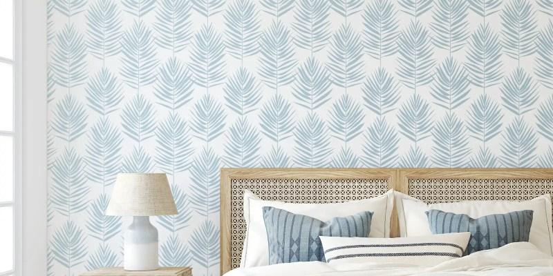 Pretty-palms-peel-and-stick-wallpaper