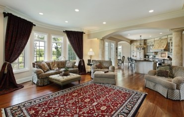 Turkish-carpet-open-plan-living-room-design-ideas