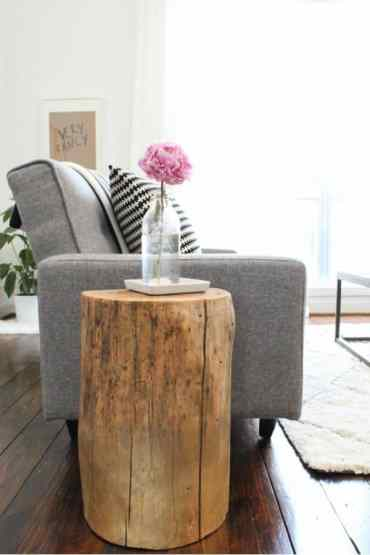 2.-the-diy-rustic-stump-side-table
