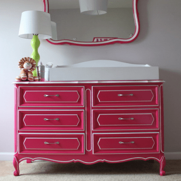 23-a-dresser-renovated-with-bold-pink-paint-and-new-handles