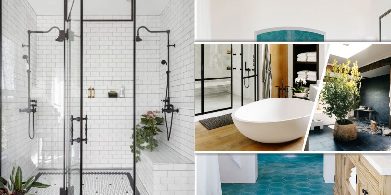 Bathroom with walk-in shower ideas that inspire you for the next makeover2