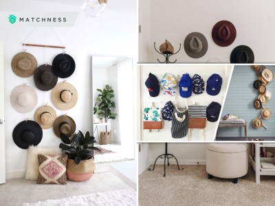 Check these 20 hat display ideas to organize your collection2
