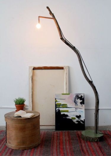 1-a-floor-lamp-made-of-a-concrete-base-a-large-branch-and-a-bulb-is-a-stunning-idea-to-diy