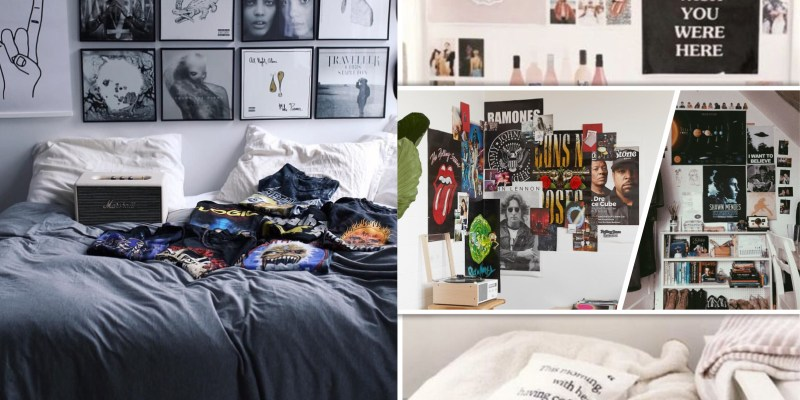 30 impressive ways to display your wall poster decoration2