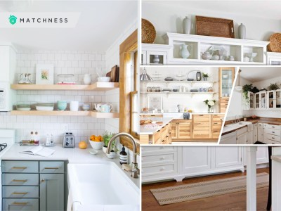Best choice of places to put floating shelf in your kitchen2