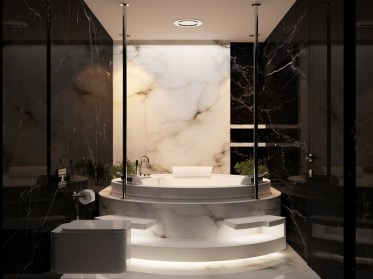 Black-and-white-marble-bathroom