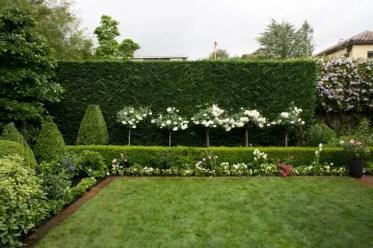 Hedged-garden