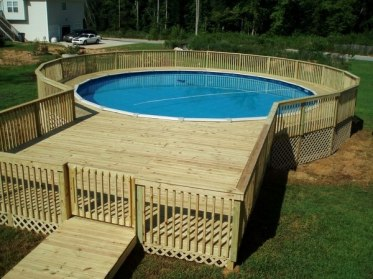 Above-ground-pools-with-decks-garden-pool-design-wooden-deck-and-railings