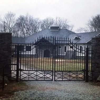 Decorative-metal-driveway-gate-ideas