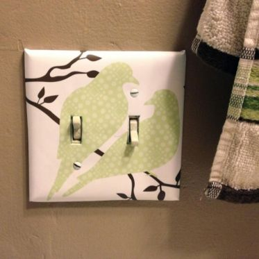 Decorative-paper-for-light-switch-cover