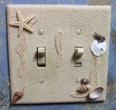 Sand-shells-light-switch