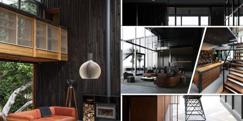17 modern black loft decorations2