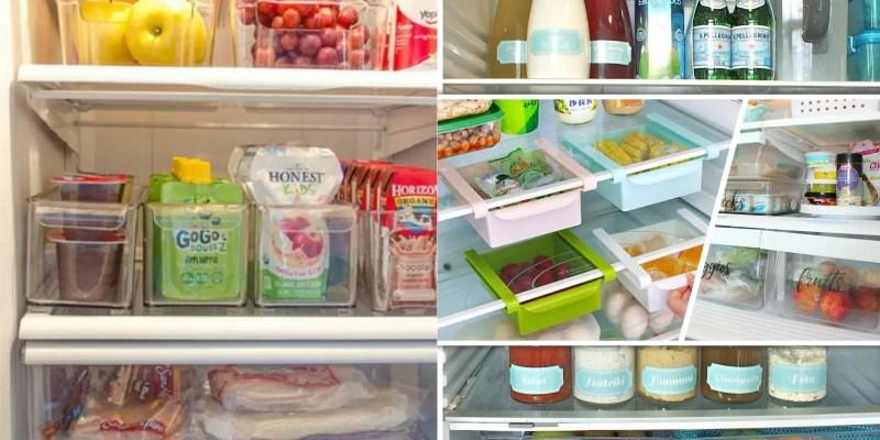 25 functional refrigerator hack ideas2