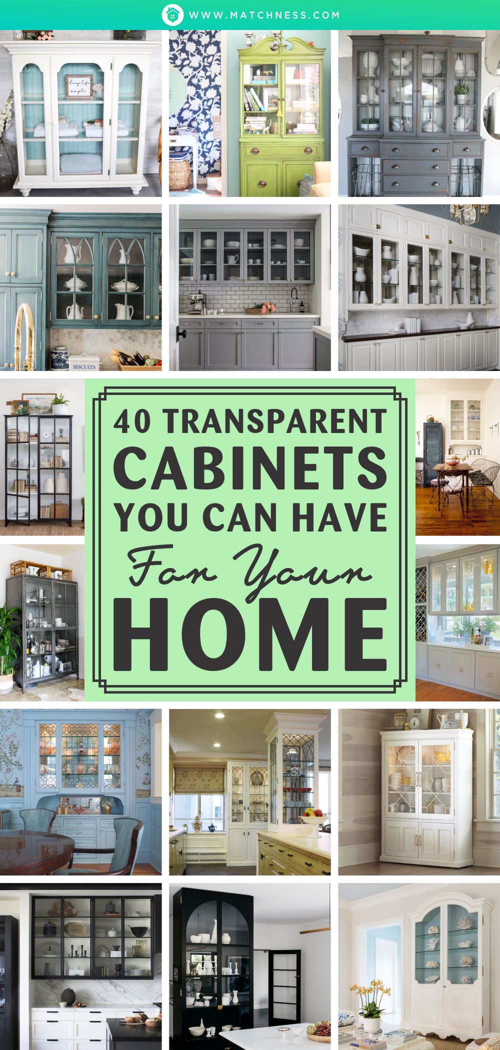 40 transparent cabinets you can have for your home1