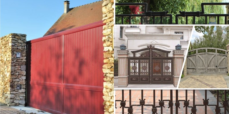 45 impressive house gate designs2