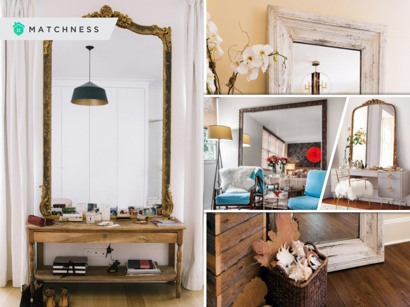 55 awesome ways to place giant mirrors as a part of your home decoration2
