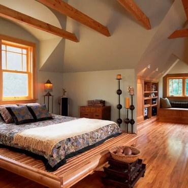 Cozy-attic-bedroom-idea-with-a-window-seat