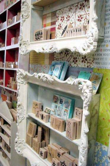 Framed-shelves-to-display-and-organize-small-items