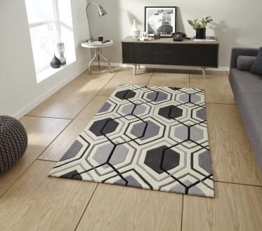 Hexagon-carpet